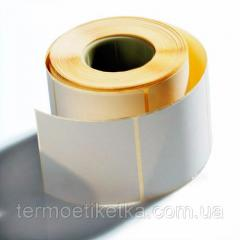 Термоэтикетка 58х60 эко намотка 1000