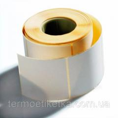 Термоэтикетка 100х40 эко намотка 1000