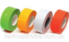 Ценники 21х12 (цветные)