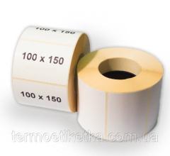 Термотрансферная этикетка 98х150