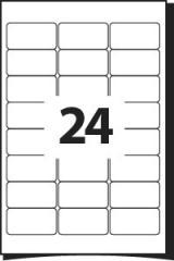 Самоклейка А4 -70х38 (24 на листе)