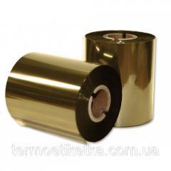 Риббон Rezin Textil Золото 64мм х300 метров (Gold)