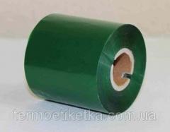 Риббон зеленый 64х300 Wax/Rezin