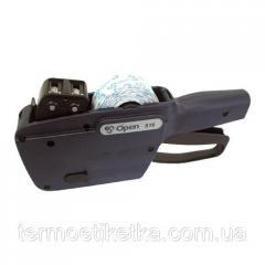 Этикет - пистолет OPEN S16