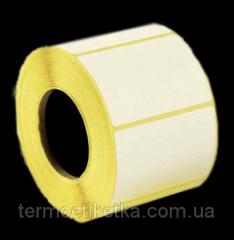 Термоэтикетка ТОП 58х100 мм (улучшенная)