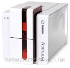 Карт-принтер Primacy Simplex Expert (красный, без опций PM1H0000RS) печать с одной стороны