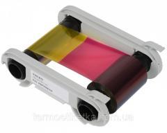 Лента риббон YMCKO -  200 prints / roll(R5F002EAA )цветная на 200 карт