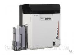 Карт-принтер Evolis Avansia Duplex Expert черный  USB и Ethernet