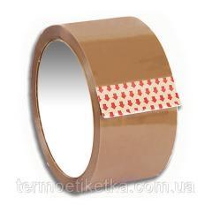 Клейкая лента коричневая упаковочная 48*200 (40 микрон)