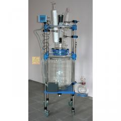 Glass reactor (laboratory) 50L jacketed