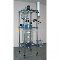 Glass reactor (laboratory) 100L jacketed