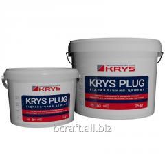 Fast-setting hydraulic cement, KRYS Plug hydroseal