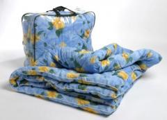 Одеяла ватные, шерстяные, синтепоные