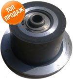 Rubber-metal roller of Holmer