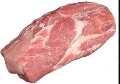 Congelado sin hueso del cuello de cerdo, sin piel