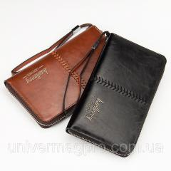 Men's clutch of Baellerry Leather. Men's