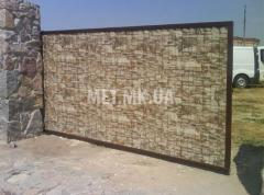 Ворота металлические раздвижные