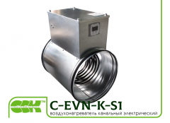 The heater C-EVN-K-S1-315-9, 0 electric...