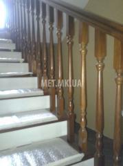 Перила деревянные для лестницы