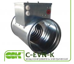 Электрический воздухонагреватель для круглых каналов C-EVN-K-250-3,0
