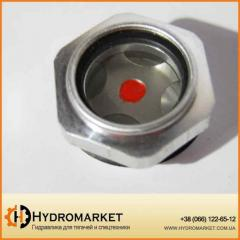 Индикатор масла в баке стеклышко бака