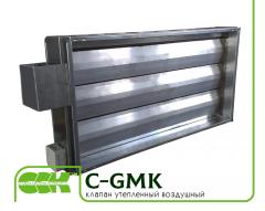 Воздушный утепленный клапан C-GMK-40-20