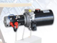 Минигидростанция подъема гидроборта