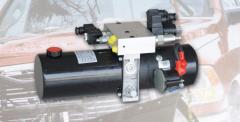Комплекты гидравлики с электрическим приводом для