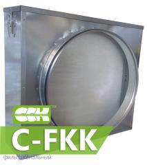 Фильтр канальный для круглых каналов C-FKK-125.