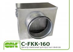 C-FKK-160 фильтр для круглых каналов