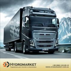 Гидравлическая система на Volvo