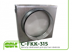 Filter C-FKK-315 channel for ventilation systems