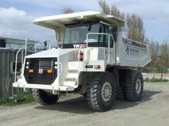 Terex TR35 dump truck (Tereks of TR35)