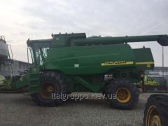 John Deere 9780 cts combine harvester