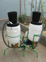 Hydromill - a zernodrobilka - a kormoprigotovitel