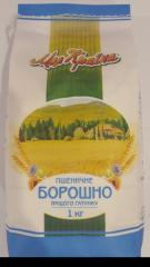 Борошно пшеничне вищого ґатунку 1 кг