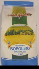 Борошно пшеничне вищого ґатунку 2 кг