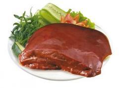 Hígado de cerdo congelado (carne de cerdo