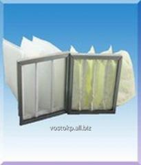 Pocket air filters of the FVK type