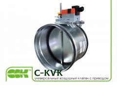Универсална въздушен клапан за вентилация C-KVK-200