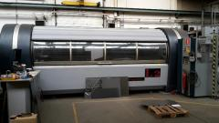 Equipment with CNC for laser cutting, stamping and