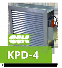 Клапан противопожарный дымовой KPD-4-01