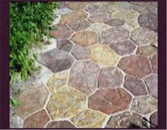 Тротуарная плитка Каменный цветок