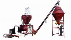 Комбикормовая установка с горизонтальным смесителем КУГ-1