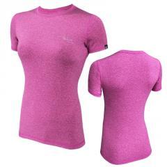 Спортивная женская футболка Radical Capri SG розовая