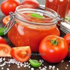 Tomato Paste in metal drums inside with aseptic