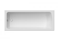 Rectangular acrylic bathtub of VIOLA of 170x70 cm