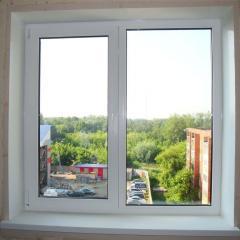 Plastic WDS window.