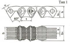 Цепь приводная зубчатая ГОСТ 13552-81