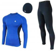 Женский спортивный костюм для бега Radical Intensive сине-черный